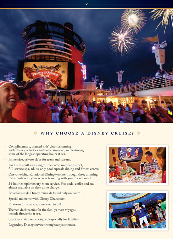 Disney Cruise Line at Interline Rates